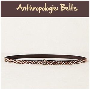 "Anthro ""Lanzarote Skinny Belt"""